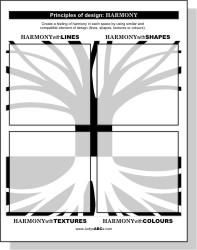 Principles of Design - Harmony - Judy's ABC's